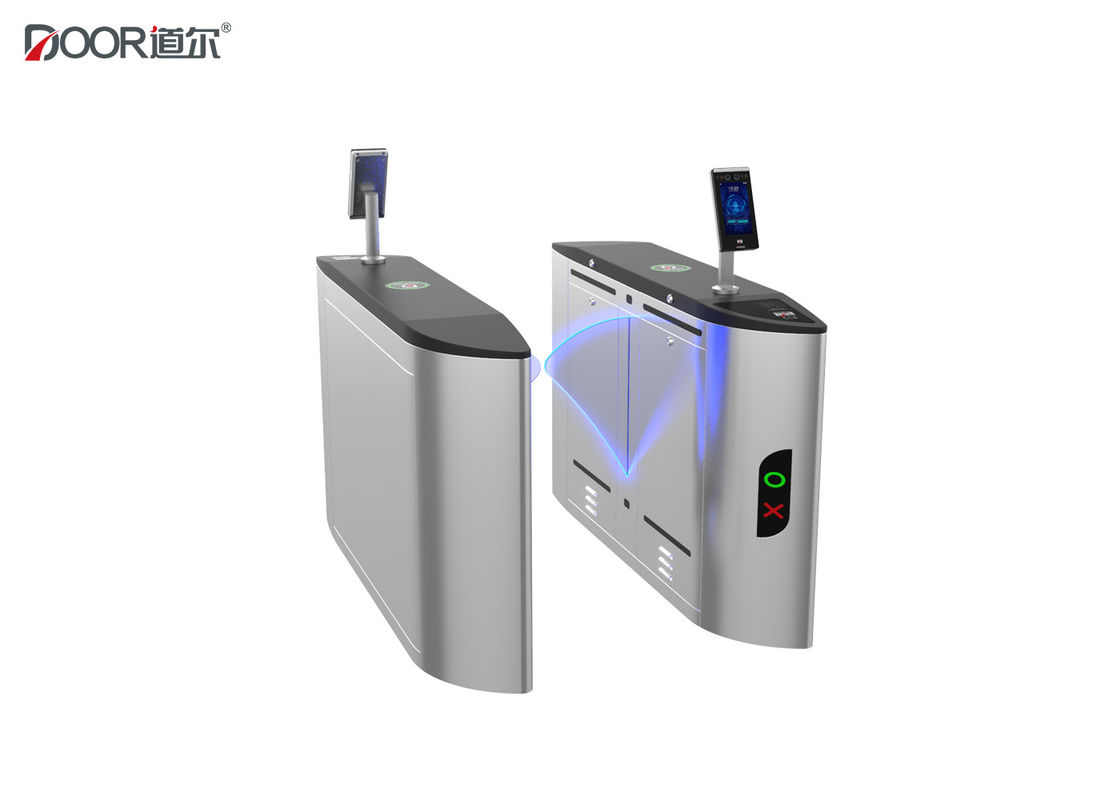 DC Brushless Motor Facial Recognition Turnstile Entry Systems Long Lifespan